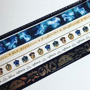"""Harry Potter Washi Tape. Sample Set total of 360""""s"""